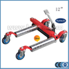 Vehicle Positioning Jack dengan roller baja